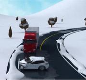 """冰雪道路会车操作不当致碰撞事故(安塞县""""12•18""""较大道路交通事故)"""